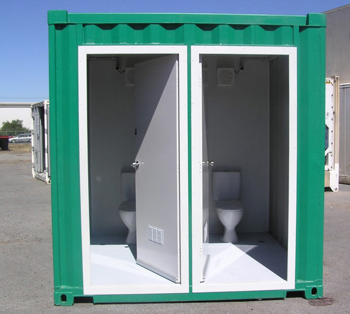 Shipping container shower blocks container toilets - Shipping container public bathroom ...