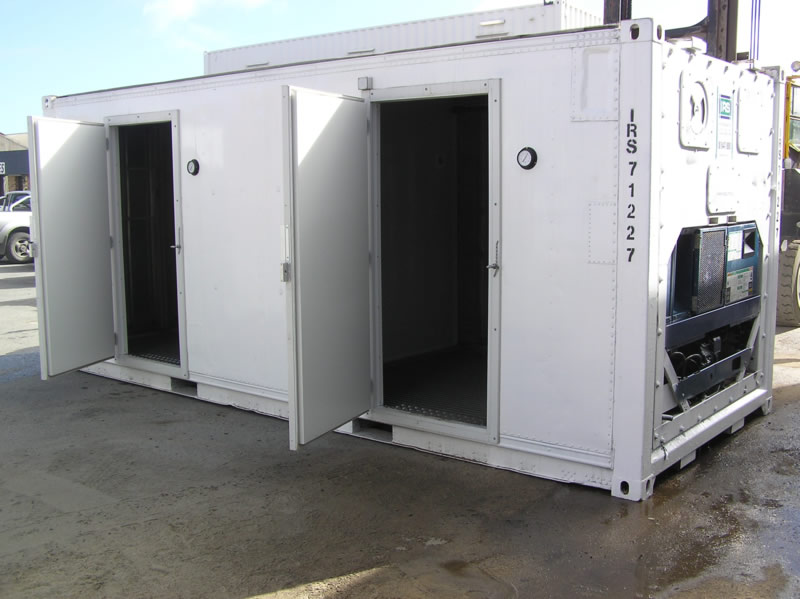 Refrigerated Container Homes Sales and Rentals